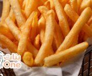 طريقة عمل البطاطس نصف مقلية للتخزين