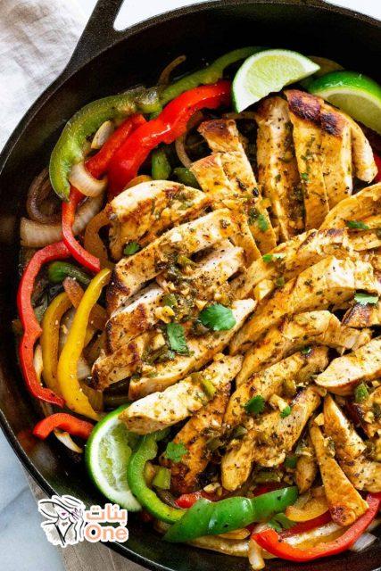 طريقة إعداد فاهيتا الدجاج