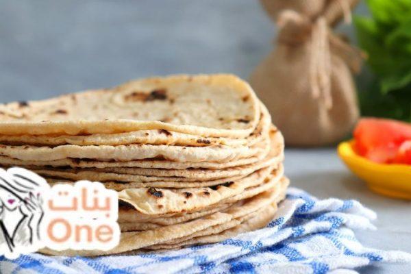 طريقة عمل خبز الشراك للشاورما