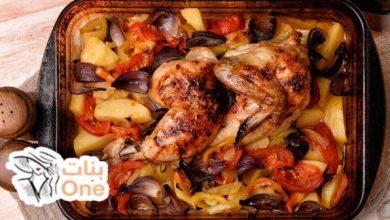 طريقة عمل تبسي الدجاج العراقي بالخضروات