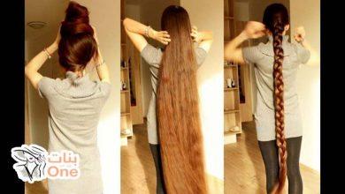 كيف أطول الشعر في أسبوع