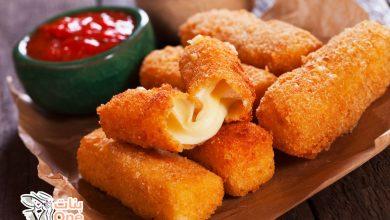 طريقة عمل أصابع الجبنة المقلية