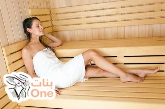 فوائد حمامات الساونا للجسم والشعر والبشرة