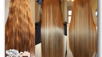 فرد الشعر بطريقة طبيعية وسهلة