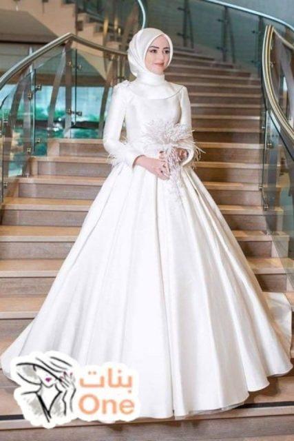 أجمل فساتين زفاف محجبات تركية 2021