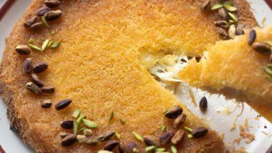 طريقة عمل الكنافة بالجبنة