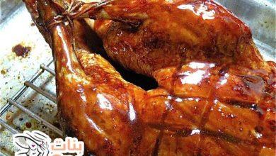 طريقة طبخ البط المحمر