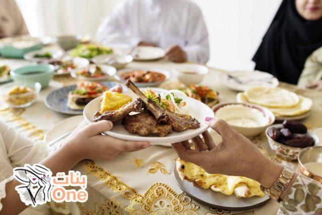 طريقة عمل سفرة رمضانية