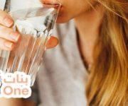 فوائد شرب الماء بعد الأكل