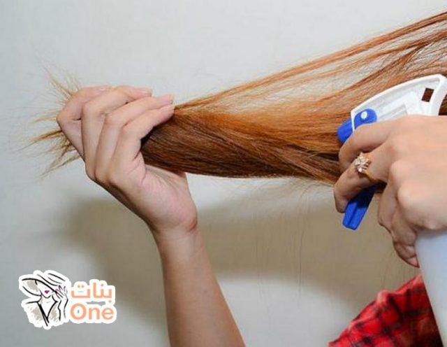 كيفية تمليس الشعر طبيعيا