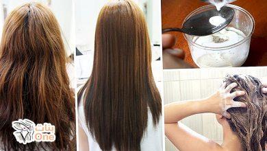 الطريقة الصحيحة لفرد الشعر بالنشا