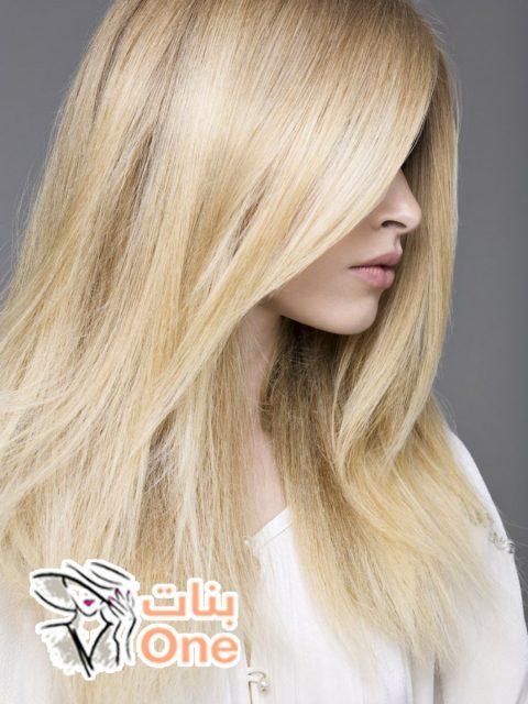 وصفة طبيعية لصبغ الشعر باللون الأشقر