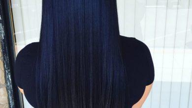 طريقة صبغ الشعر طبيعياً باللون الأسود