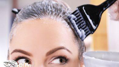 طريقة صبغ الشعر أشقر رمادي في البيت
