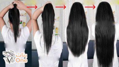 وصفات بسيطة لتطويل الشعر في أسبوع