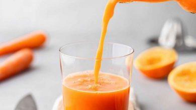 فوائد عصير البرتقال والجزر على الجسم