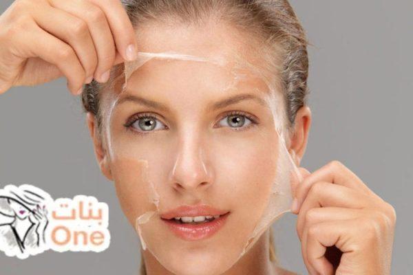 كيفية إزالة القشرة من الوجه