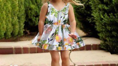 ملابس أطفال بنات 2021 صيفي بالصور