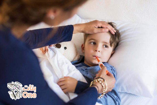 كيفية علاج سخونة الأطفال