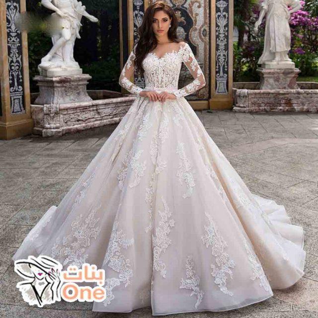 أحدث فساتين زفاف 2021 لعروس جذابة ومثالية
