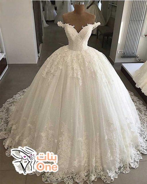 أجمل فساتين زفاف مصرية منفوشة
