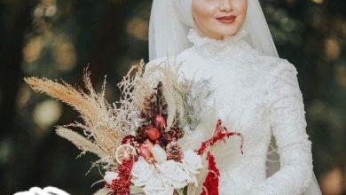 أجمل فساتين زفاف محجبات مصرية 2021