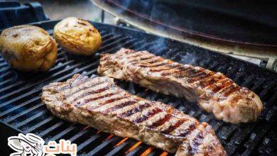 طريقة عمل اللحم المشوي على الشواية