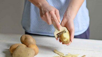 فوائد قشر البطاطس للبشرة