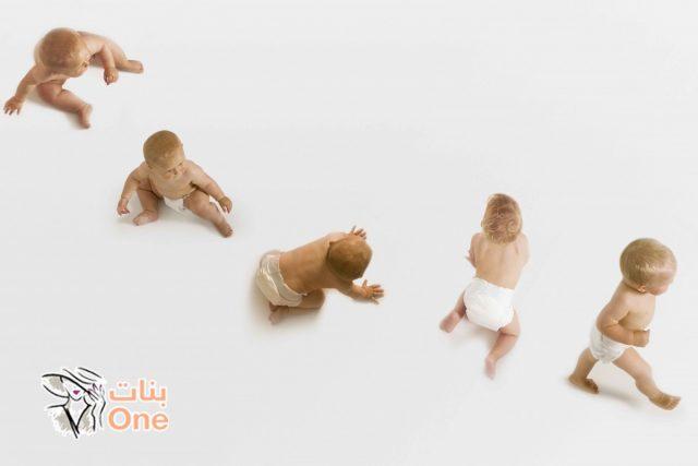 مراحل نمو الطفل بالشهور حتى العام الأول