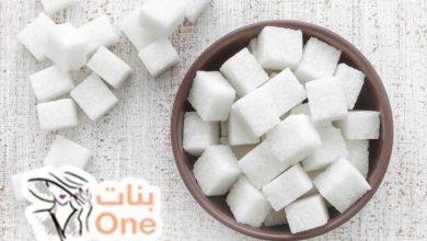 كيفية عمل مكعبات السكر الأبيض والبني