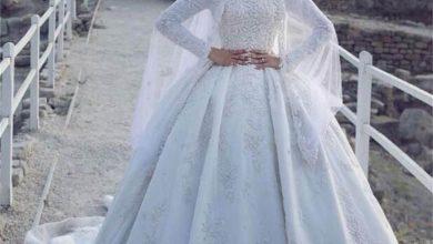 فساتين 2021 زفاف أنيقة للمحجبات