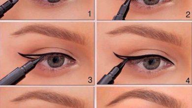 خطوات رسم العين بالصور