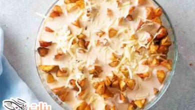 طريقة عمل بطاطس ودجز بالجبن
