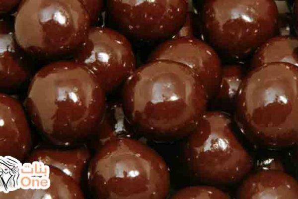 طريقة عمل كرات الشوكولاتة