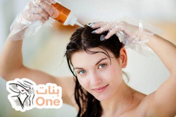 طريقة إزالة الصبغة من الشعر بمواد طبيعية