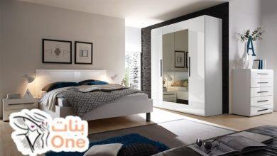 ديكورات غرف نوم بالأبيض والأسود 2021