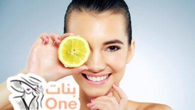 فوائد الليمون والسكر للبشرة الدهنية