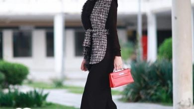 أجمل ملابس شتوية للمحجبات 2022
