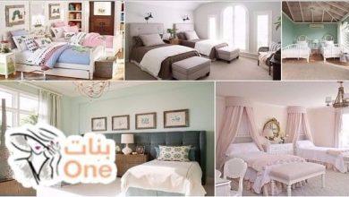 صور غرف نوم اطفال بسريرين ودولاب كلاسيك