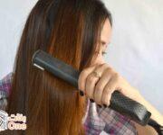 طريقة كوي الشعر بطريقة صحيحة