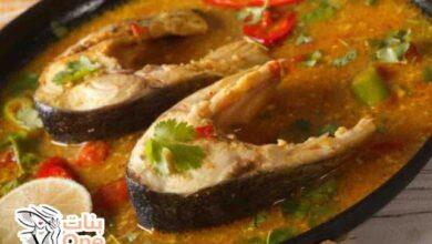 طريقة عمل سمك قشر البياض في الفرن