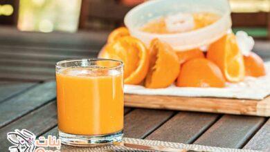 طريقة تخزين عصير البرتقال