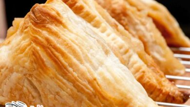 طريقة البف باستري بالجبن الكيري