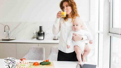 كيفية خسارة الوزن مع الرضاعة