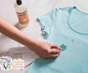 كيفية نزع الزيت من الملابس