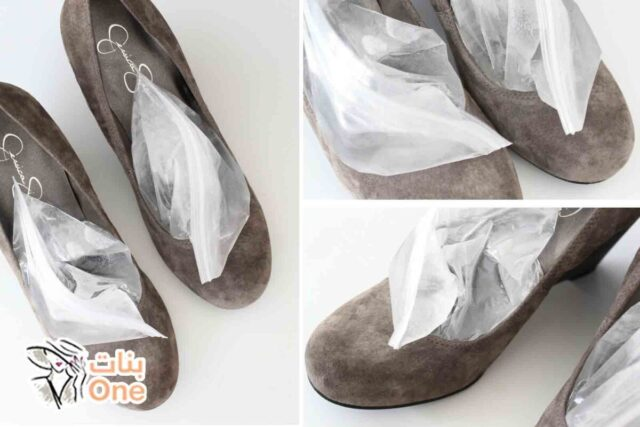 كيفية توسيع الأحذية