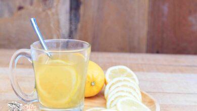 فوائد الماء الساخن والليمون للجسم والتخسيس