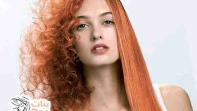 كيفية تنعيم الشعر المجعد للبنات