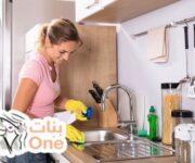 كيفية تنظيف حوائط المطبخ من الدهون